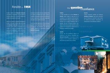 Télécharger la brochure - Héneault et Gosselin