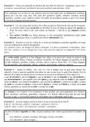 Sensations et perceptions - Tutolettres