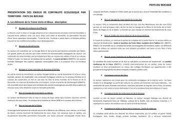 Fiche finalisée Pays du Bocage - PDF 1,8 Mo - Trame Verte et Bleue ...