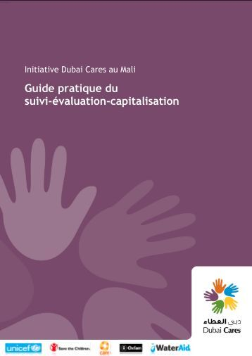 Guide pratique du suivi évaluation capitalisation - Wash In Schools