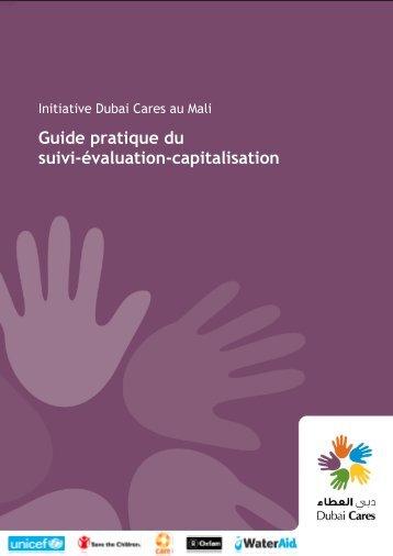 Guide pratique du suivi évaluation capitalisation - Wash In Schools