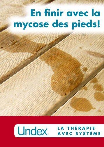 En finir avec la mycose des pieds! - Melisana
