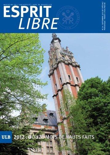 septembre - Université Libre de Bruxelles