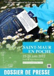 Dossier de Presse - Saint-Maur en Poche