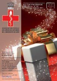 Bulletin de décembre 2011 - AMLG