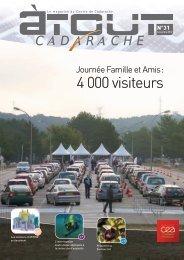 4 000 visiteurs - Centre de Cadarache - CEA