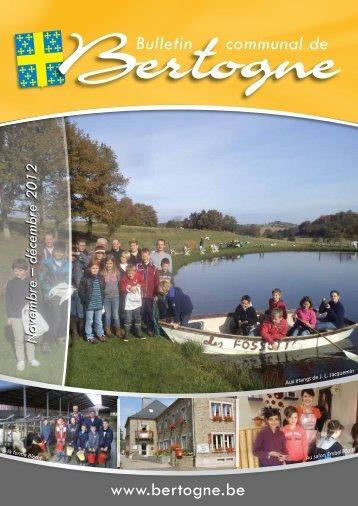 Novembre - Décembre 2012 - Bertogne