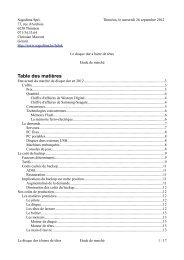 marché du disque dur - Sogedima