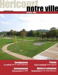 OCTOBRE 2009 - Héricourt