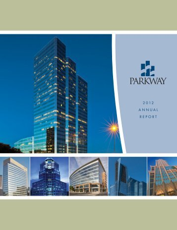 Parkway 2012 Annual Report