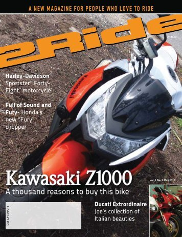 A thousand reasons to buy this bike - 2Ride Motorcycle Magazine