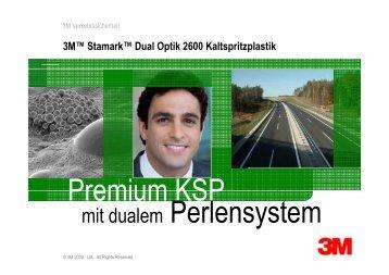Premium KSP mit dualem Perlensystem