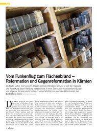 Reformation und Gegenreformation in Kärnten - 3DAK