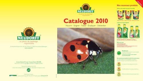 Catalogue 2010 - Neudorff