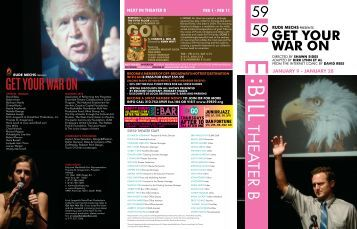Get Your War On - 59E59 Theaters