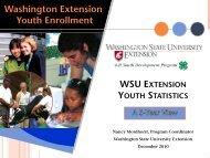 youth enrollment - 4-H Youth Development Program - Washington ...