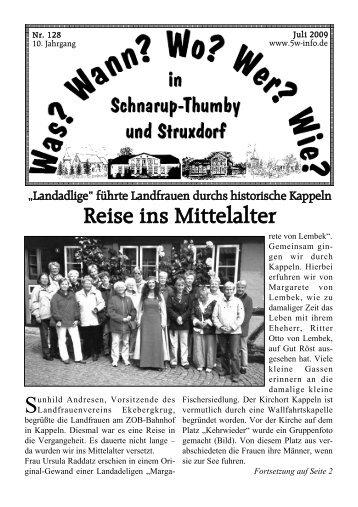 Juli 2009 - Schnarup-Thumby, Struxdorf