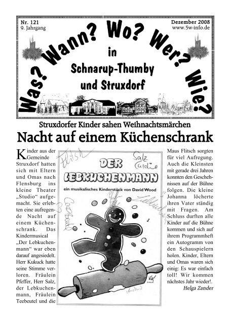Dezember 2008 - Wann? Wo? Wer? Wie? in Schnarup-Thumby