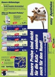 sondern auch für den Hund! Alle rezeptfreien Produkte bek