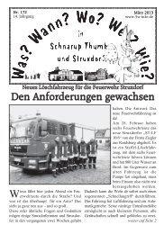 März 2013 - Schnarup-Thumby, Struxdorf
