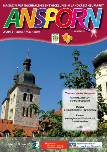2/2013 • April • Mai • Juni magazin für nachhaltige entwicklung im ...