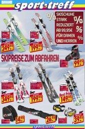 skischuhe stark reduziert ab 99,95€ für damen und herren