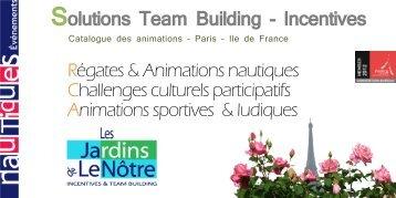 Animation-team-building - Nautiques Evénements