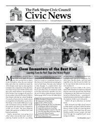 The Park Slope Civic Council Civic News