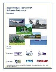 Regional Freight Network Plan - Highways Of Commerce