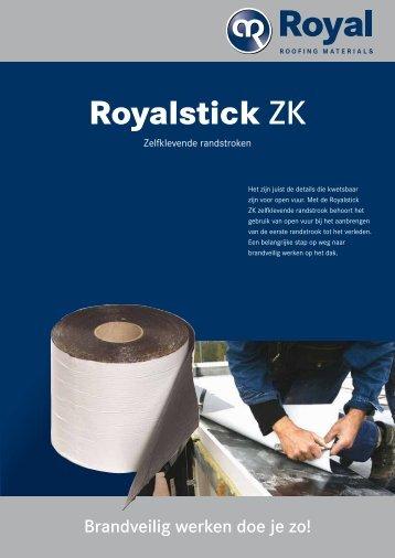 Royalstick ZK - zelfklevende randstroken