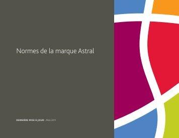 Télécharger : Normes de la marque Astral(PDF)