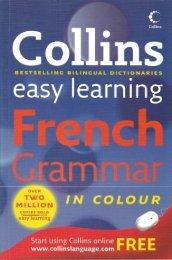 Collins Easy Learning French Grammar - gariban tavuk