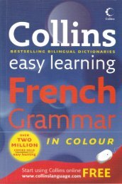 Collins Easy Learning French Grammar - gariban tavuk