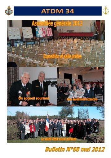 Bulletin N° 68 de mai 2012 (4 Mo en PDF) - atdm34.net