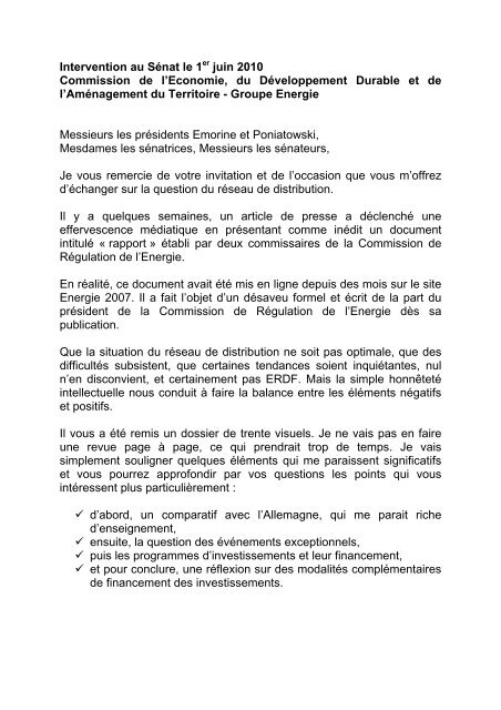 Intervention Michèle Bellon Erdf