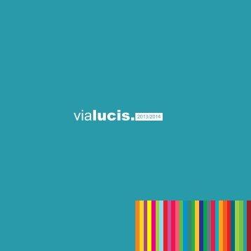Lucis | vialucis. Wohraumleuchten 2013 - 2014