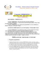 Cementol HIDROIZOL S