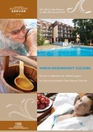 IHRER GESUNDHEIT ZULIEBE - Danubius Hotels Group