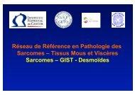 Réseau de Référence en Pathologie des Sarcomes - GSF-GETO
