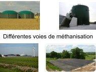 Différentes voies de méthanisation - Chambre d'agriculture du Bas ...