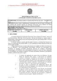 Parecer CNE/CES nº 94/2008, aprovado em 12 de junho de 2008