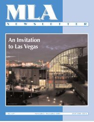 An Invitation to Las Vegas - Music Library Association