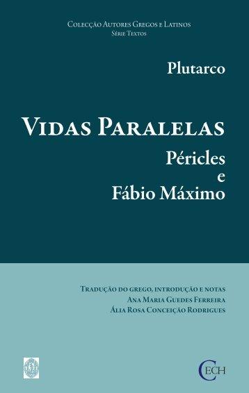 Vidas Paralelas - Péricles e Fábio Máximo - Universidade de Coimbra
