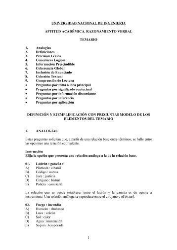 preguntas de ejemplo- razonamiento verbal (pdf - Universidad ...