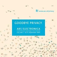 Second City - ARS Electronica
