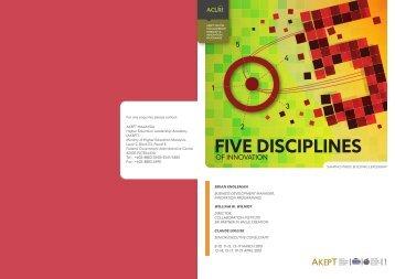 nnovation : Five Disciplines of Innovation