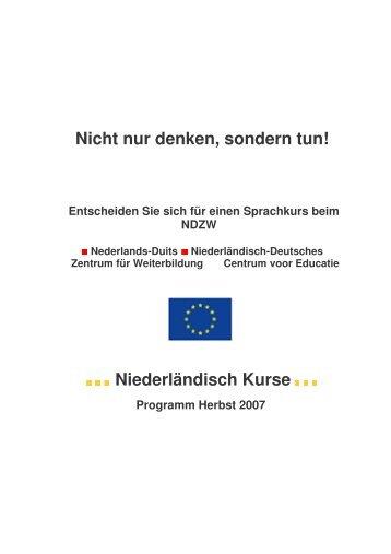 Niederländisch Kurse_cursussen Nederlands - VHS Kreis Heinsberg