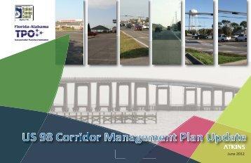US 98 Corridor Management Plan Update - West Florida Regional ...