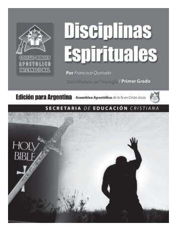 3 Disciplinas Espirituales - Iglesia en Solano