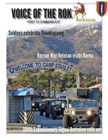Latest Voice of ROK Magazine - Eighth Army - U.S. Army